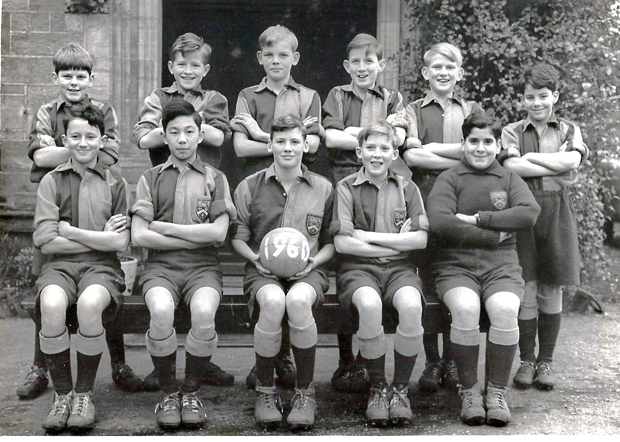 1st XII Football team 1960