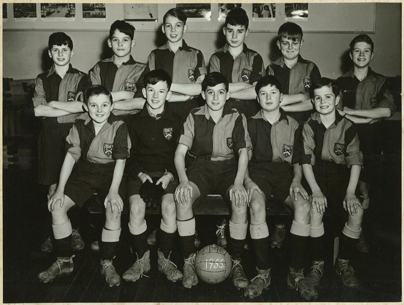 1st XII Football (1) - 1955