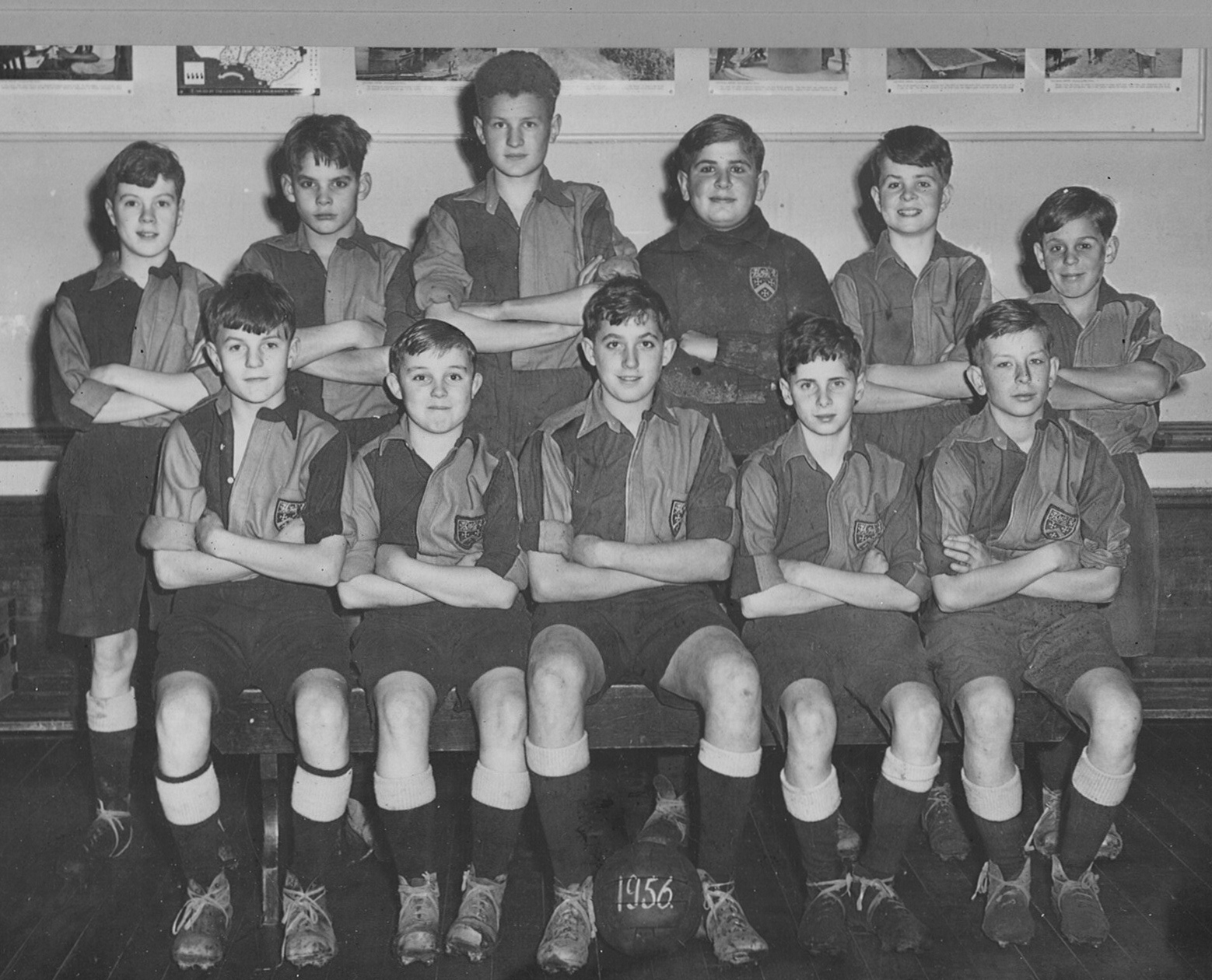 1st XII Football (2) - 1956