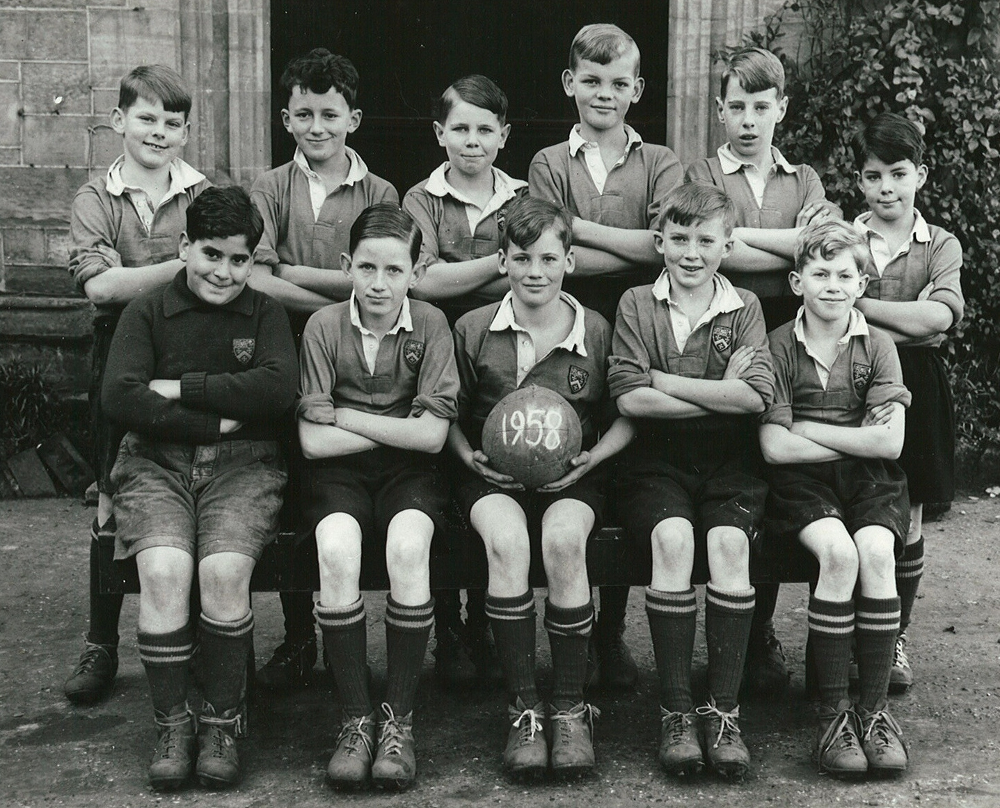 1st XII Football (5) -  1958
