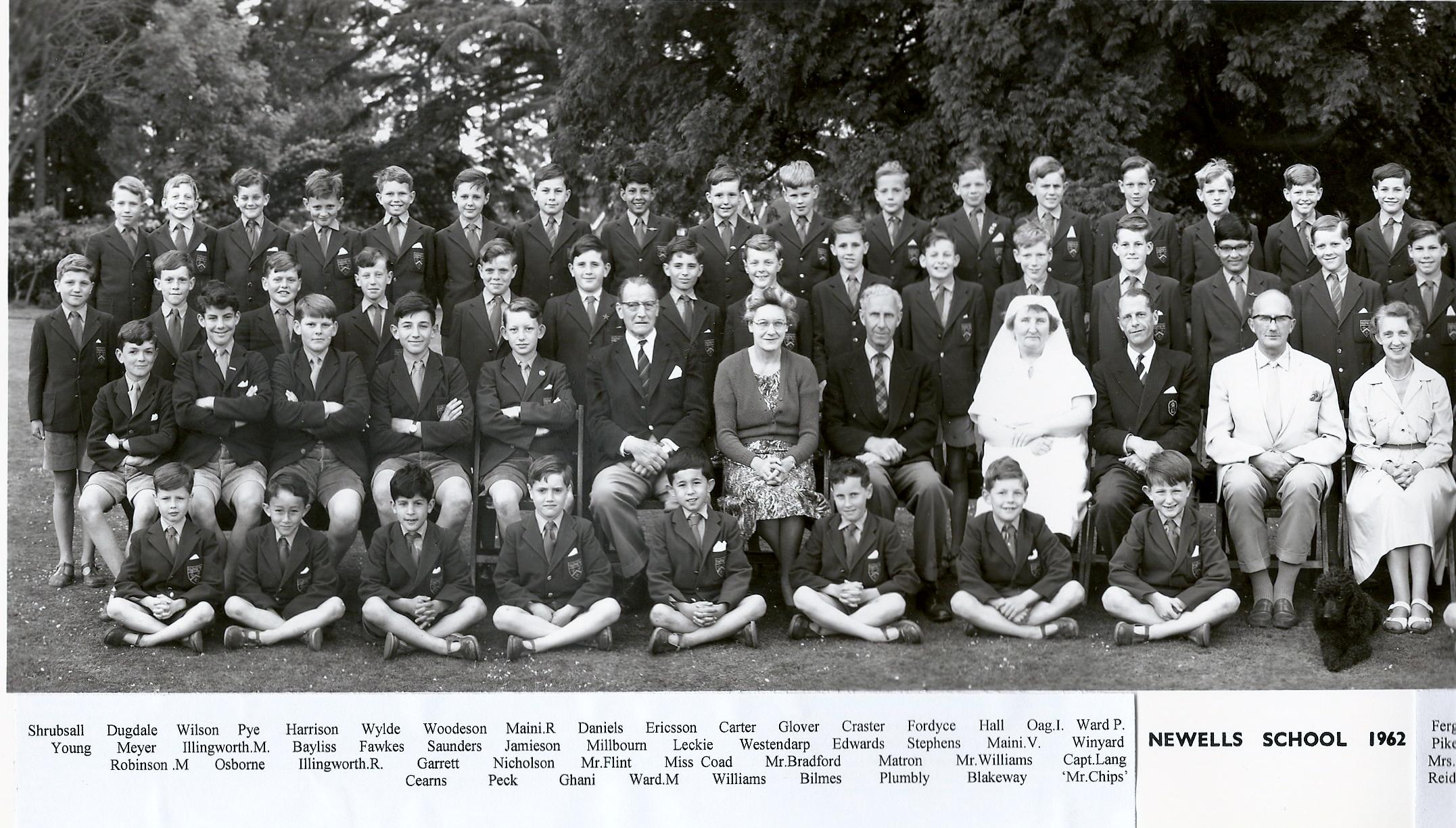 1962 School photo